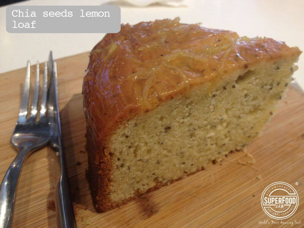 Chia Seeds Lemon Loaf