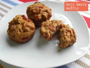 Goji Berry Muffin_recipe