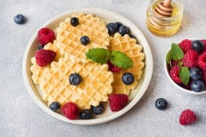 Superfood Lab Goldenberry waffles recipe