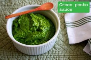Green Pesto Sauce_recipe