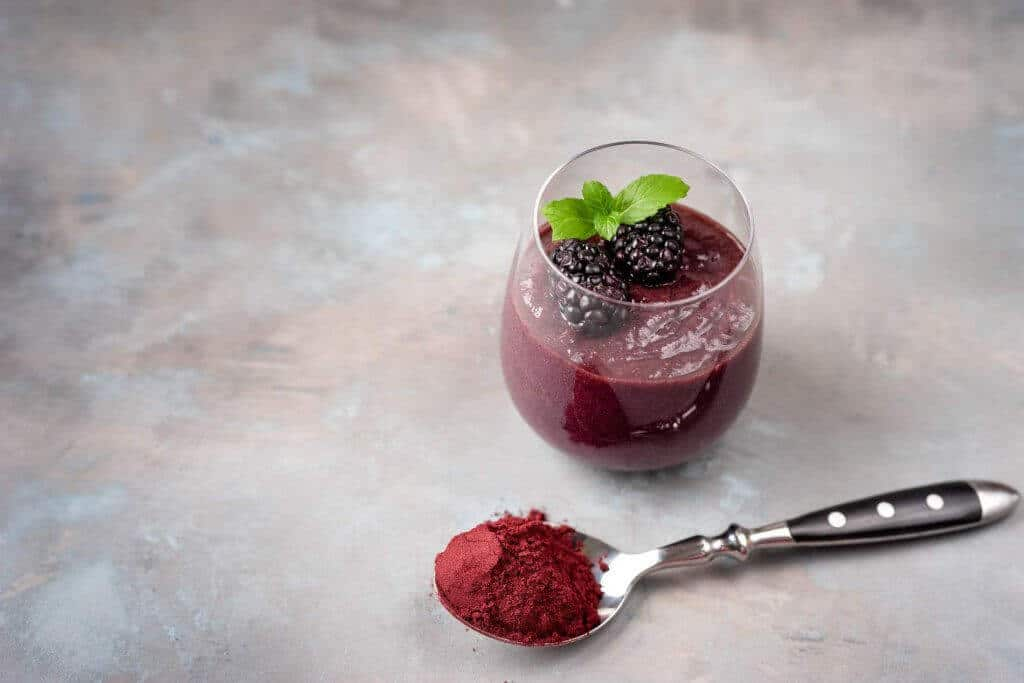 How powerful our Organic Acai Berry Powder is