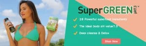 SuperGreen pH7.3 Banner